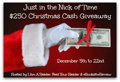 $250 Just in the Nick of Time Giveaway!