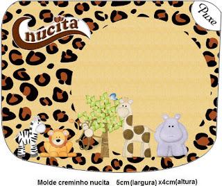 Etiqueta Nucita de La Selva de Juguete para imprimir gratis.