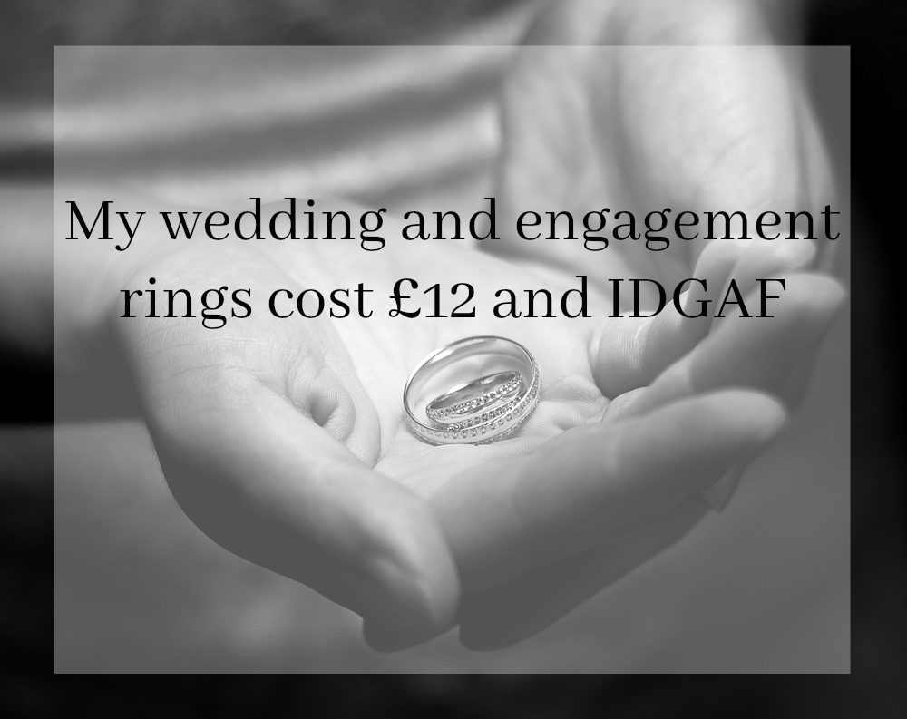 My-wedding-and-engagement-rings-cost-£12-and-IDGAF // www.xloveleahx.co.uk