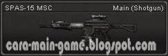 Senjata Point Blank SPAS-15 MSC