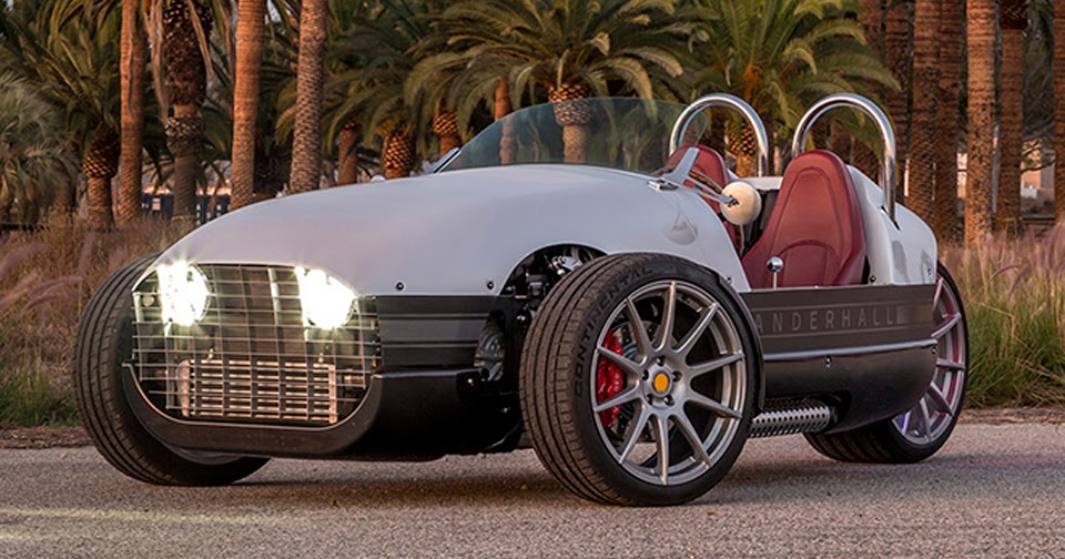 Vanderhall Venice Brings The Three Wheeled Roadster Closer