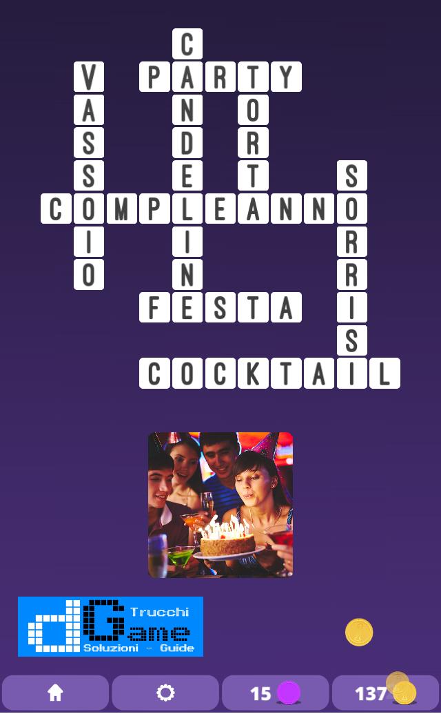 Soluzioni One Clue Crossword livello 5 schemi 3 (Cruciverba illustrato)  | Parole e foto