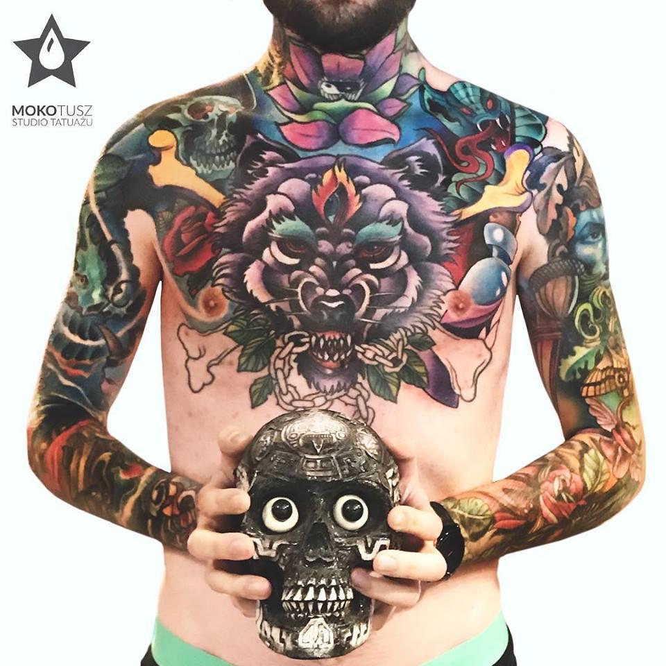 Tatuaż Z Mokotowa Maciej Sikorski