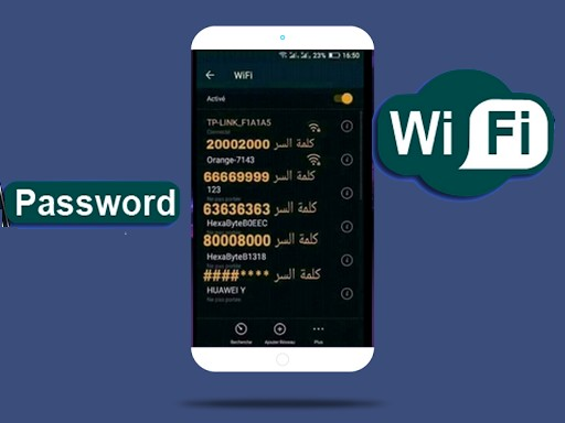 طريقة تغيير كلمة سر الواى فاى من الهاتف الاندرويد Android
