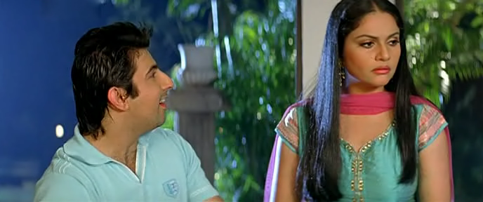 Screen Shot Of Milta Hai Chance By Chance (2011) Hindi Movie 300MB small Size PC Movie