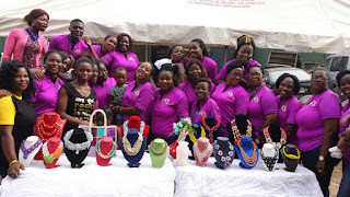 Event: Nigerian bead makers display amazing Bead designs at the Team Togetherness  bead vendors party