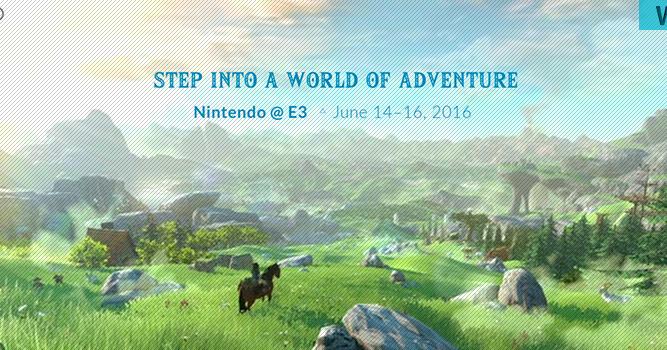 E3 2016 Nintendo Ne Mise Que Sur Zelda Gam3rs Blog