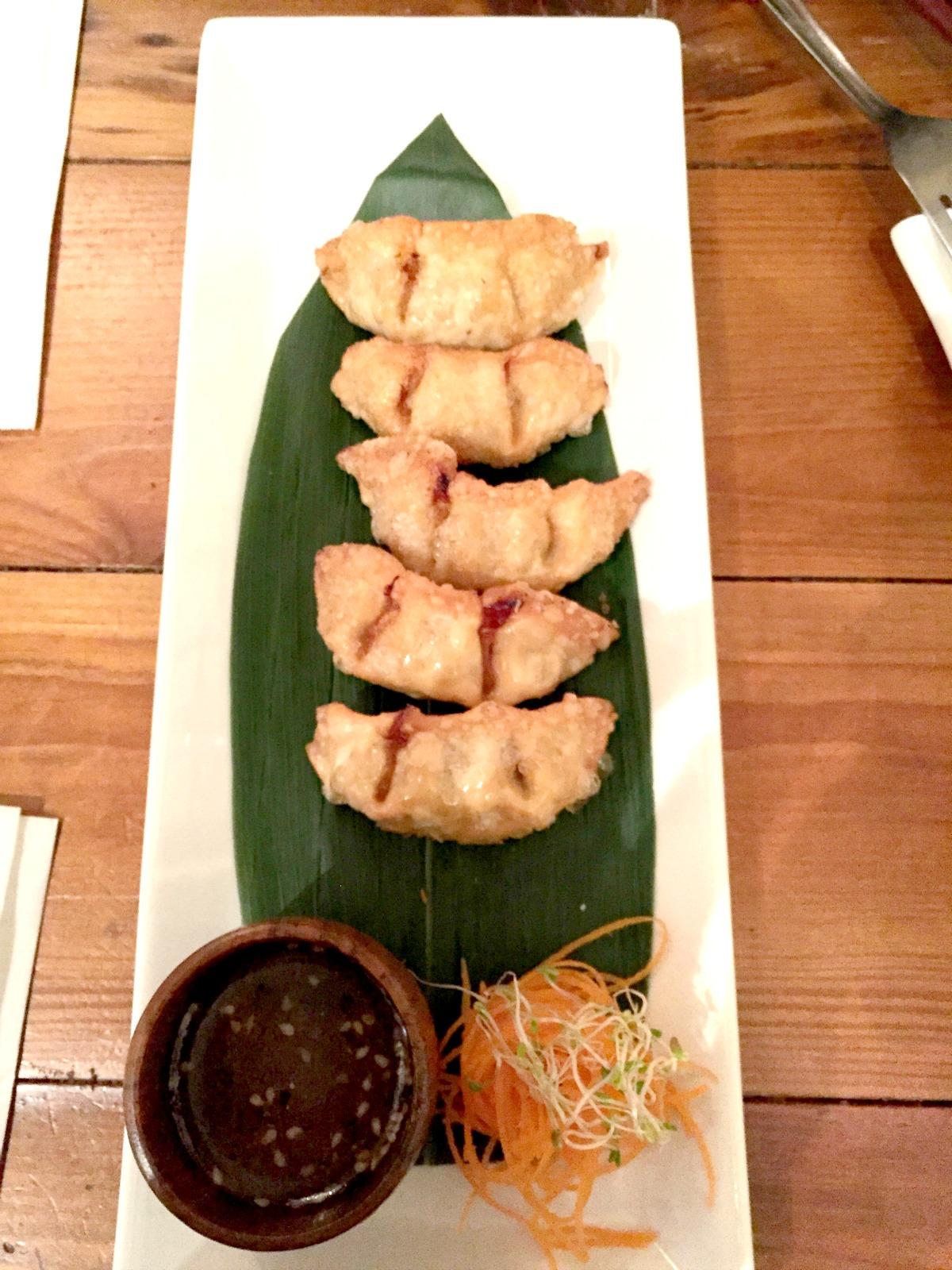 Sushi Momo-taster's menu-dumplings