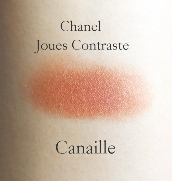 Chanel Joues Contraste Canaille swatch