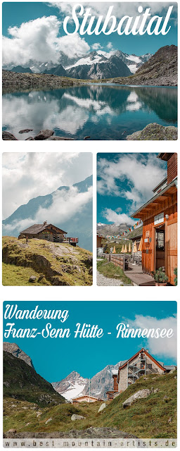 Wanderung Stubaital Franz-Senn-Hütte Rinnensee Wanderung-Stubai 14