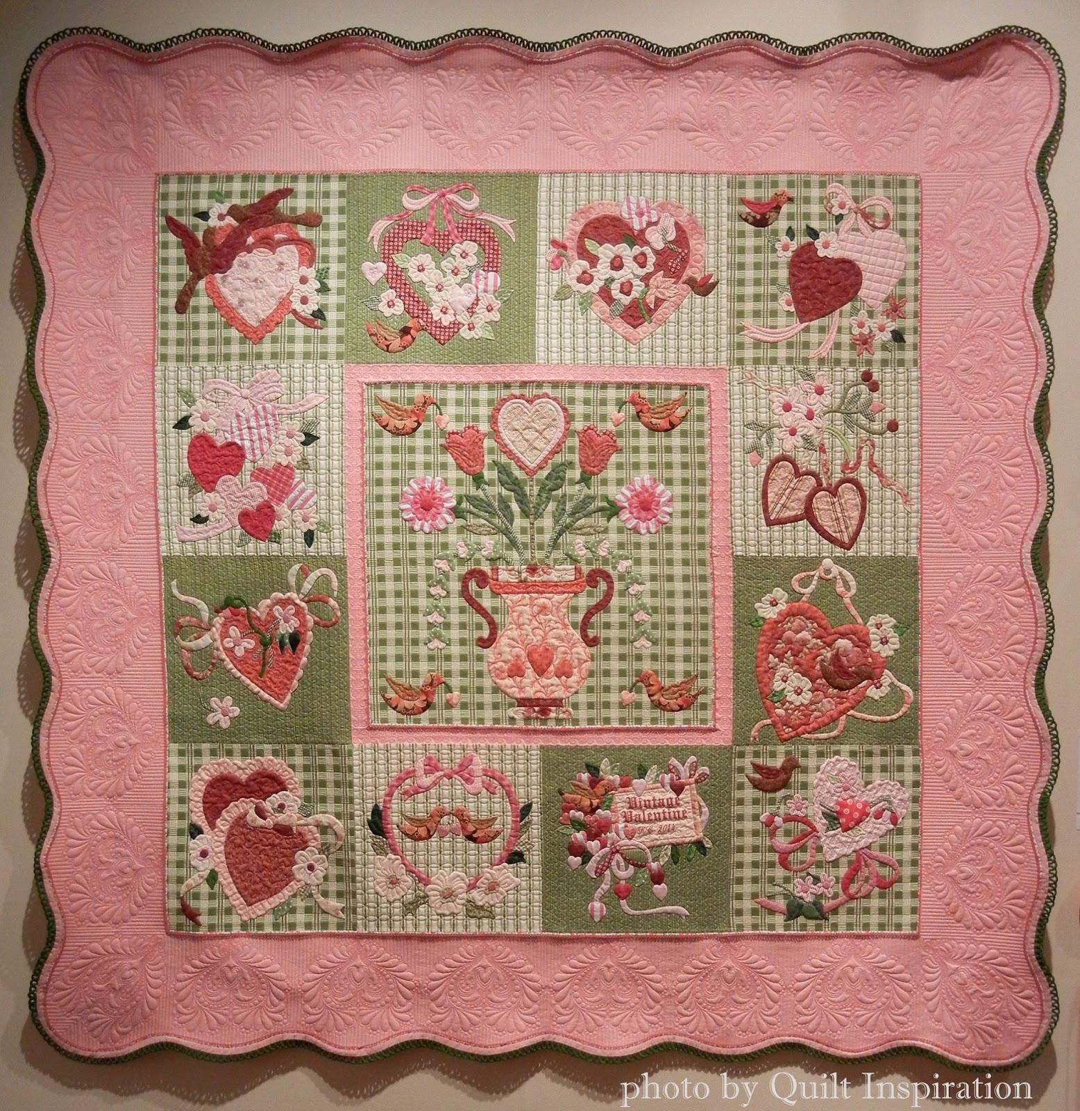 Quilt Inspiration Happy Valentine S Day