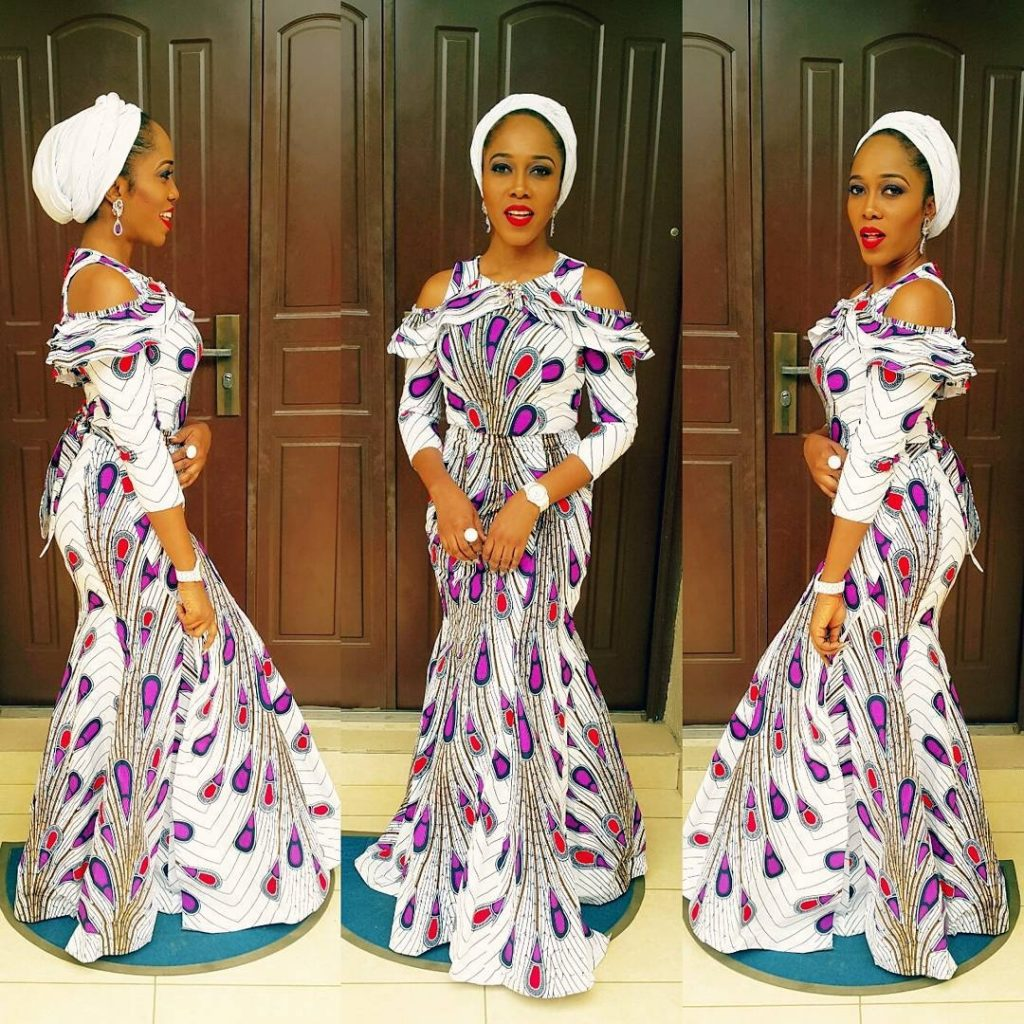 Fabulous Ladies Ankara Gown Styles 2017 - Zaineey\'s Blog