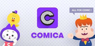 aplikasi baca komik comica