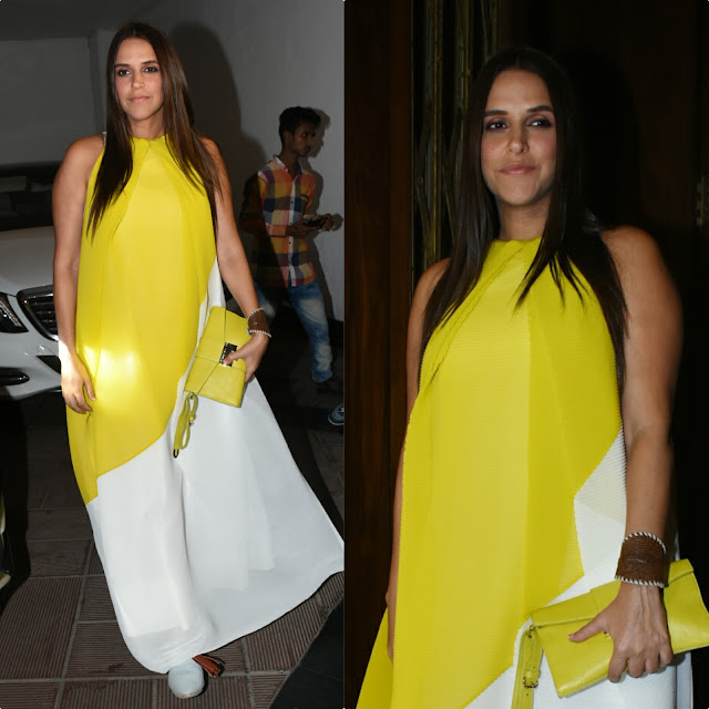Neha Dhupia Sizzles in Payal Khandwala Dress
