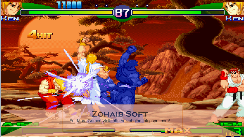Street Fighter Alpha 3 Max Full Game Setup Free Download