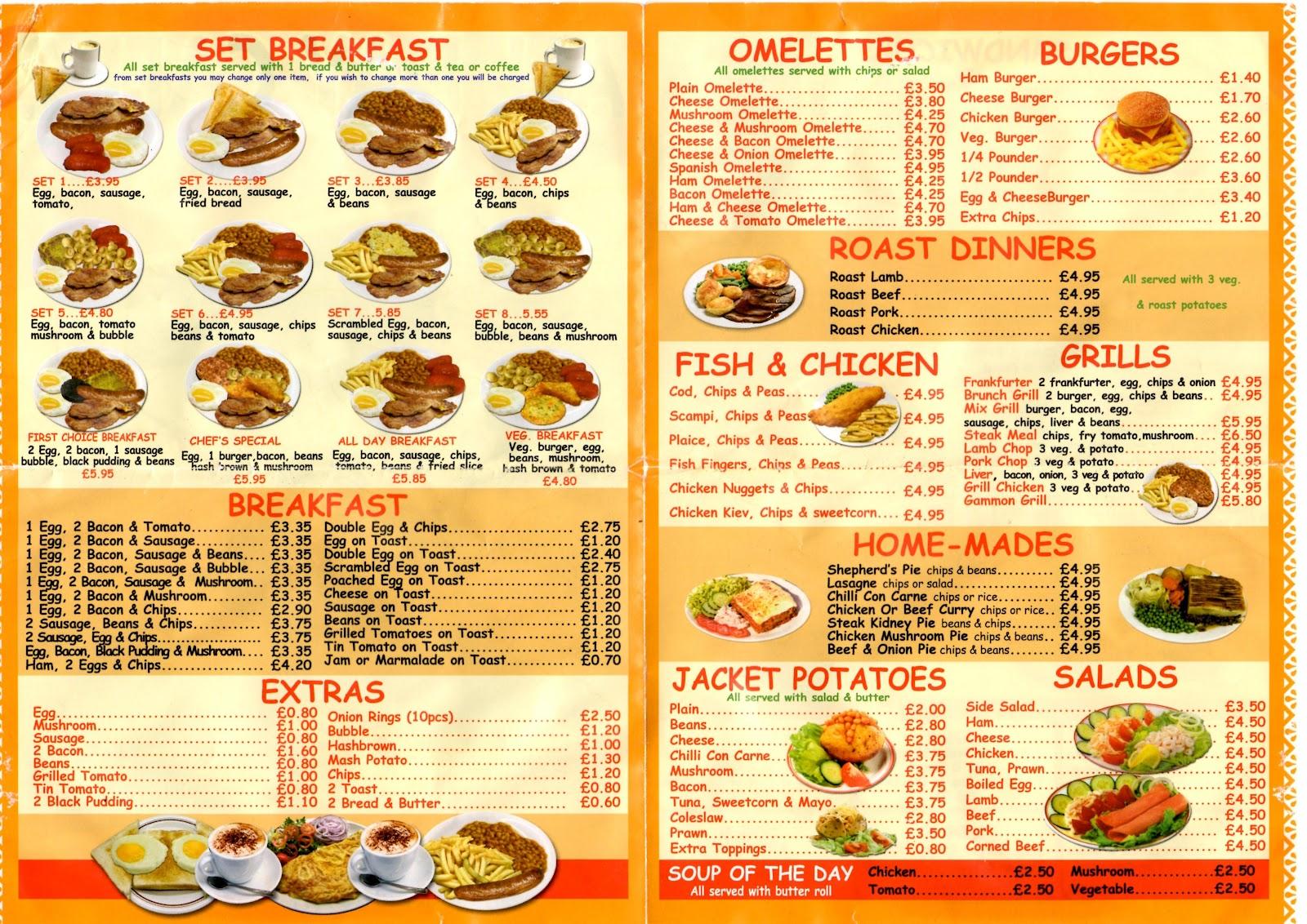 Spanish Breakfast Foods List