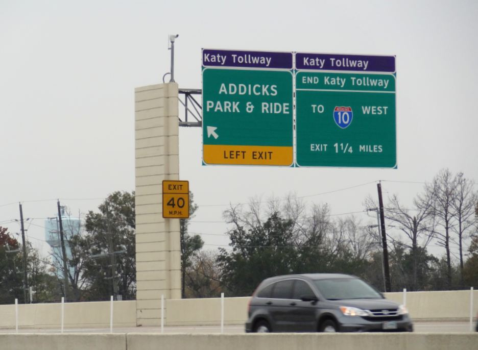 H-Town-West Photo Blog: Addicks Park and Ride Lot - Energy