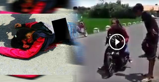 VIDEO: Ngeri .. Gadis Ini Niat Nak Test Motor Je, Tapi Mati Dalam Keadaan NGERI !