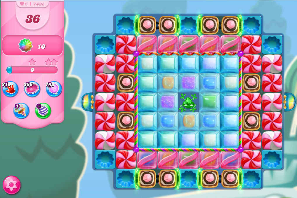 Candy Crush Saga level 7428