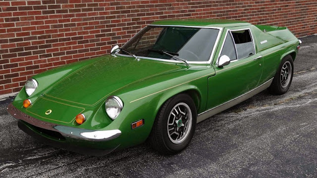 Lotus Europa 1960s British classic sports car