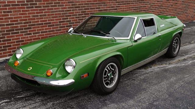 Lotus Europa 1960s British classic sports car