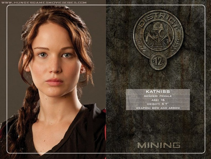A Literary Labour Of Love The Hunger Games Catching Fire Tributes