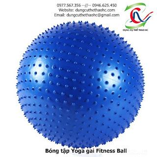Bóng tập Yoga gai Fitness Ball 65cm