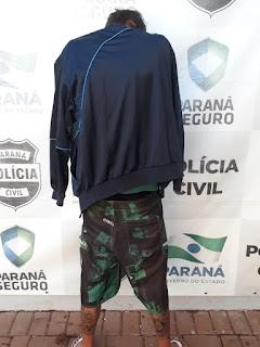 Polícia Civil cumpre mandado e prende suspeito de roubo em Iretama