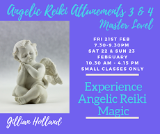 Angelic Reiki Masters 3&4