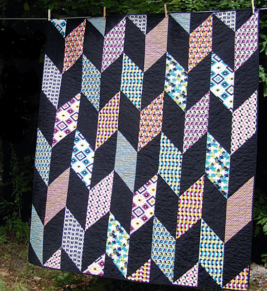 Fletcher Quilt Free Pattern designed by Wendi Gratz from Shiny Happy World.