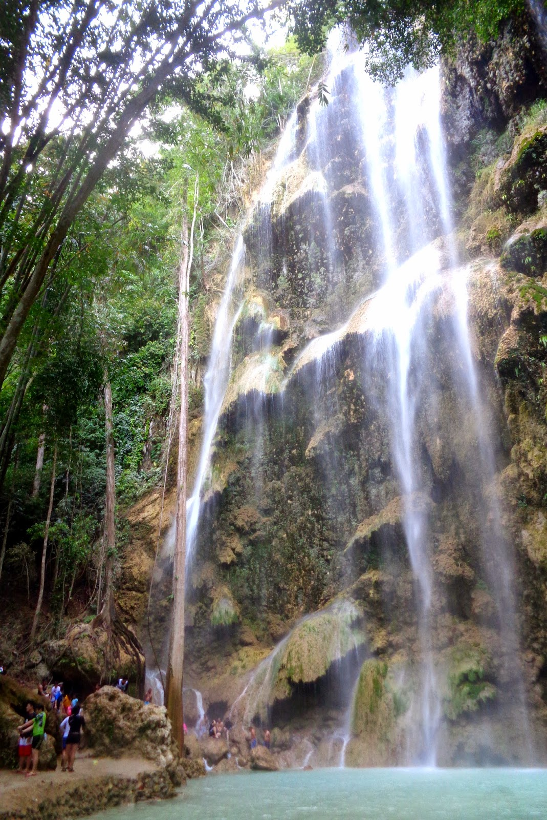 tumalog waterfalls oslob