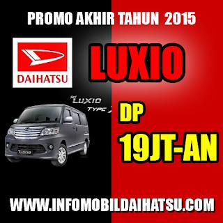 Promo Daihatsu Luxio Bandung Januari 2016, Kredit Daihatsu Luxio Bandung 2016, Harga Daihatsu Luxio  Bandung 2016
