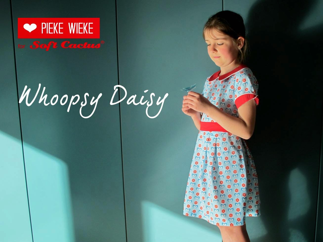 Whoopsy Daisy Tinny Dress Pieke Wieke for Soft Cactus