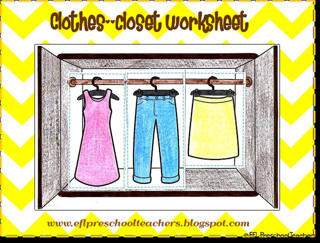 preschool clothing theme esl efl preschool teachers clothes theme for preschool ell 338