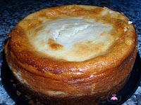 Tarta de limón y condensada desmoldada