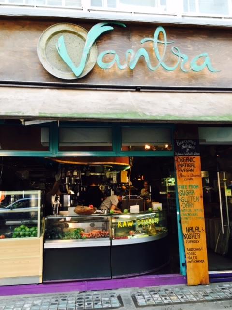 Vegetarian at Vantra Vitao, Oxford Street