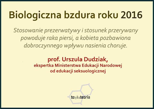 Urszula Dudziak bzdura reforma edukacji