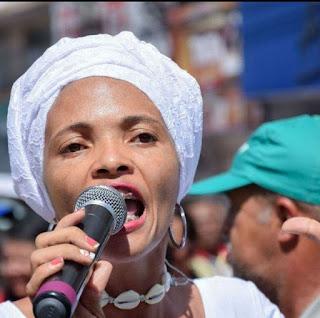 Michele Portuga comemora três anos de luta pelos trabalhadores em limpeza de Alagoinhas e região