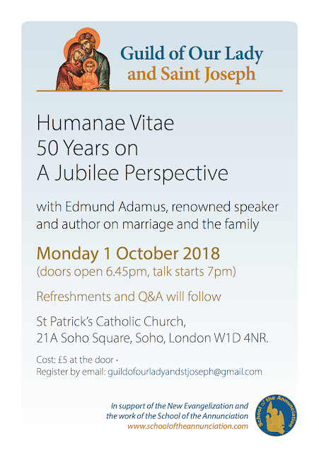Humanae Vitae 50 years on: A Jubilee Perspective