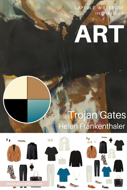 Trojan Gates by Helen Frankenthaler - Start with Art for Tote Bag Travel