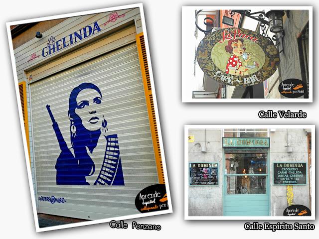 Aprende español callejeando por Madrid: Madrid es femenina