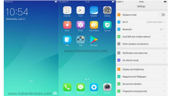 Custom Rom ColorOS V3 0 Ala Santoni For Redmi 4X (Fix All