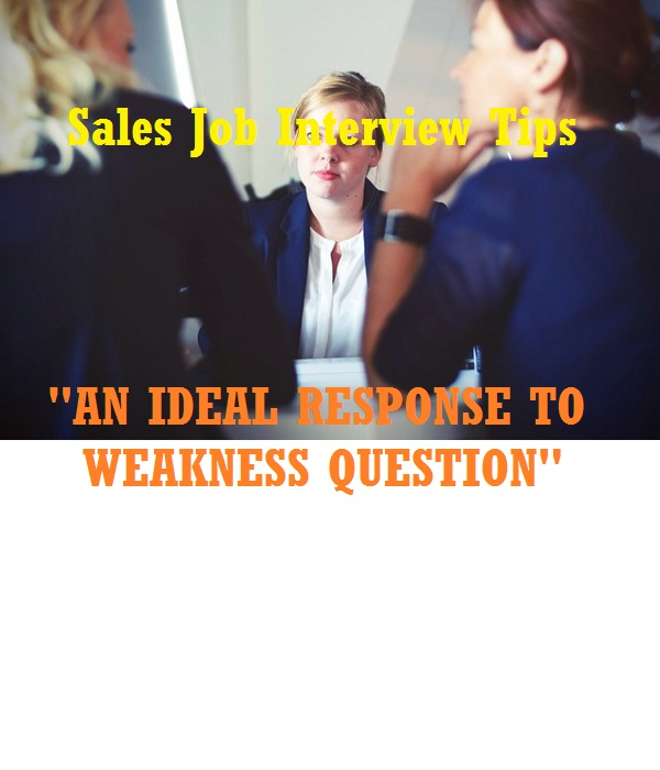 Weakness response during interview