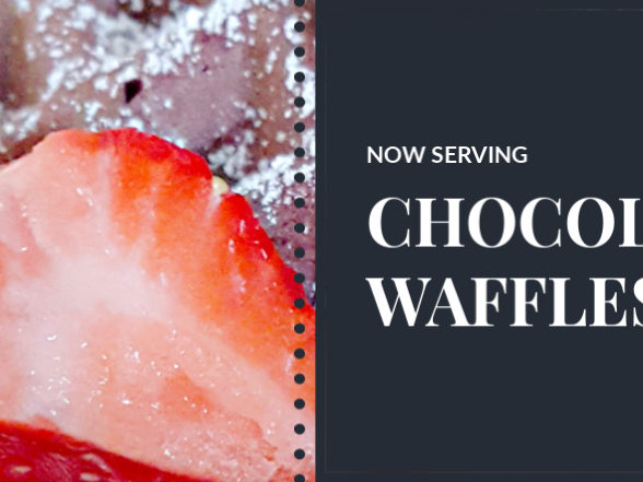 Short and Sweet - Chocolate Waffles...