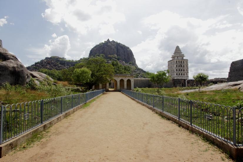 fort de Rajagiri tamil nadu inde