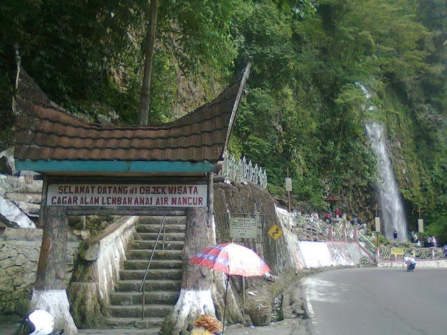 wisata lembah anai sumatera barat