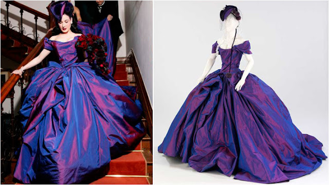 vestido de noiva dita von teese