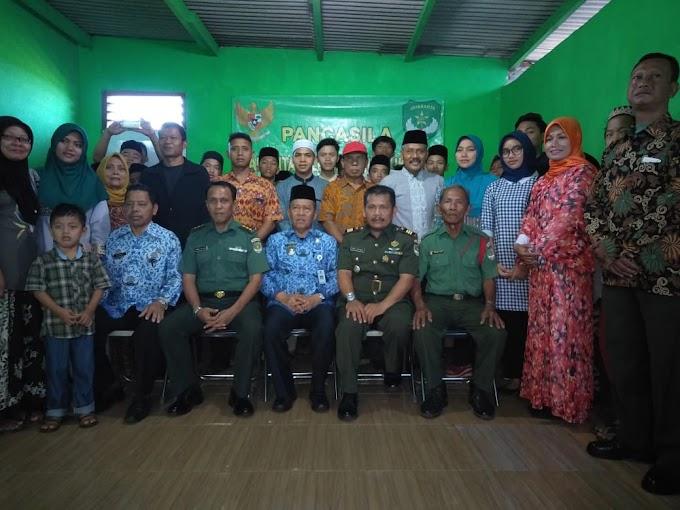 Koramil 07/Limo Sosialisasikan Nilai-Nilai Pancasila Kepada Masyarakat