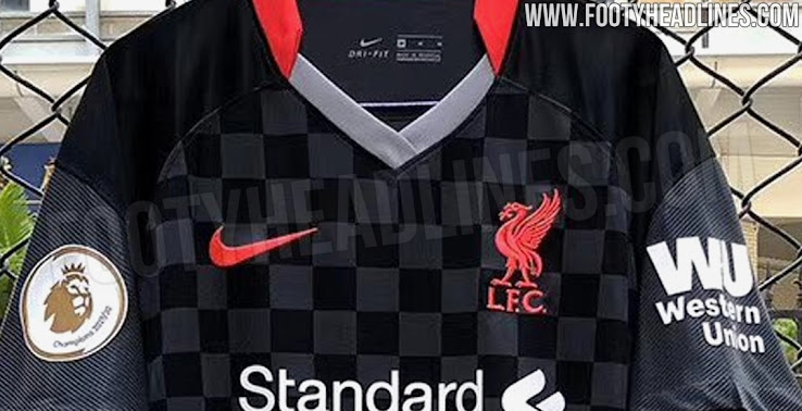 Nike Liverpool 20 21 Third Kit Leaked New Pictures