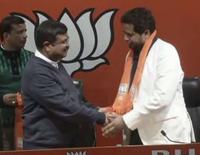 Bishnupur Trinamool Congress MP Joins BJP